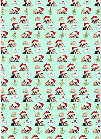 Bulldog Seasonal Cheer Christmas Gift Wrap Tags Amazon Co Uk Kitchen Home