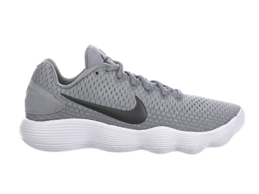 b1aba55eb7d ... discount nike mens react hyperdunk 2017 low cool grey black wolf grey  synthetic basketball shoes 50bcb