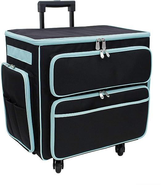 XL Sewing Machine Trolley Bag Navy 63 x 43 x 30cmBirch 006107-NAVY