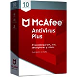 McAfee AntiVirus Plus 10 Dispositivos 2018