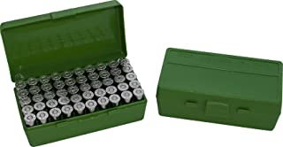 product image for MTM 50 Round Flip-Top Ammo Box 25/32 Auto Cal (Green)