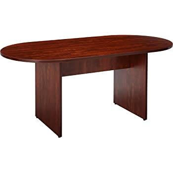 Amazoncom Lorell Oval Conference Table Top And Base By By - 72 conference table