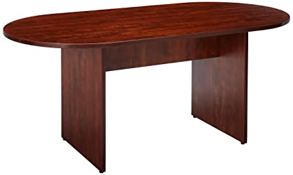 Amazoncom Lorell Oval Conference Table Top And Base By By - 72 inch conference table