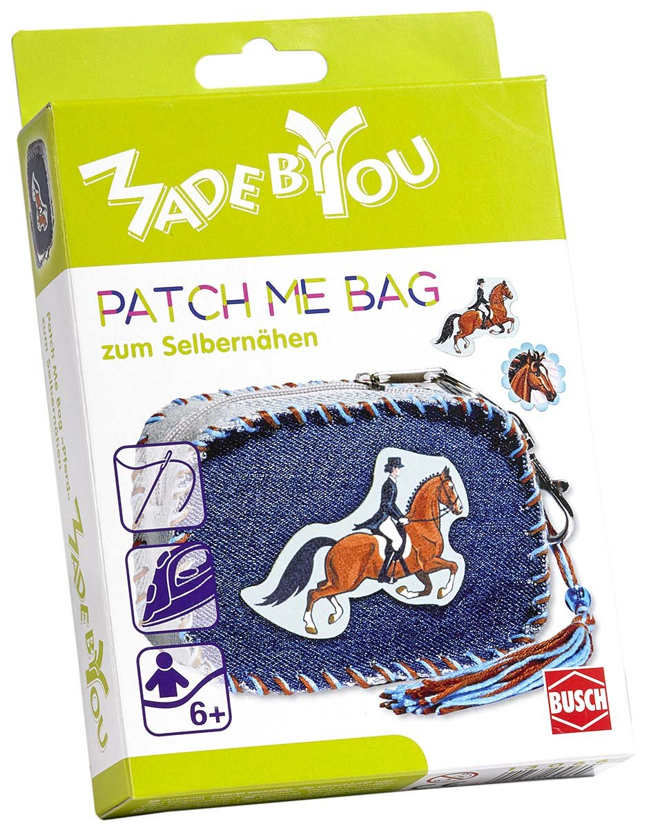 Busch Made by You 13066 Patch Me Bag Horse Childrens Craft Kit   B075VBHPJY