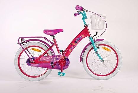 Bicicleta Chica 18 Pulgadas Trolls Ruedas Extraíbles la Cesta y ...