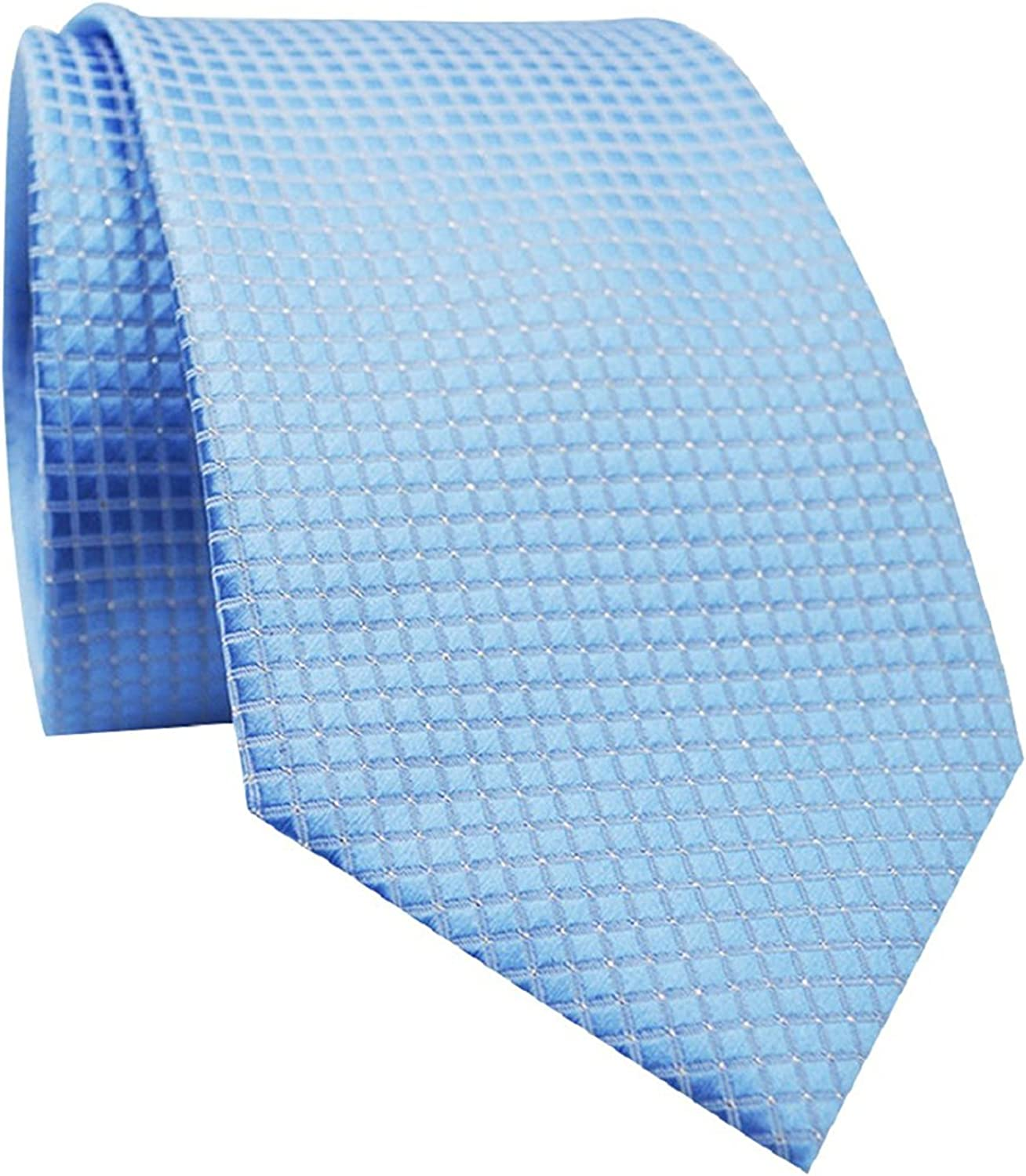 Brussels08 - Corbata - para hombre Azul azul claro Medium: Amazon ...