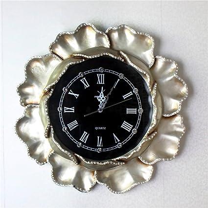 El Pavo Real Del Sudeste De Asia Relojes Antiguos De Resina Artesanal Reloj De Pared,