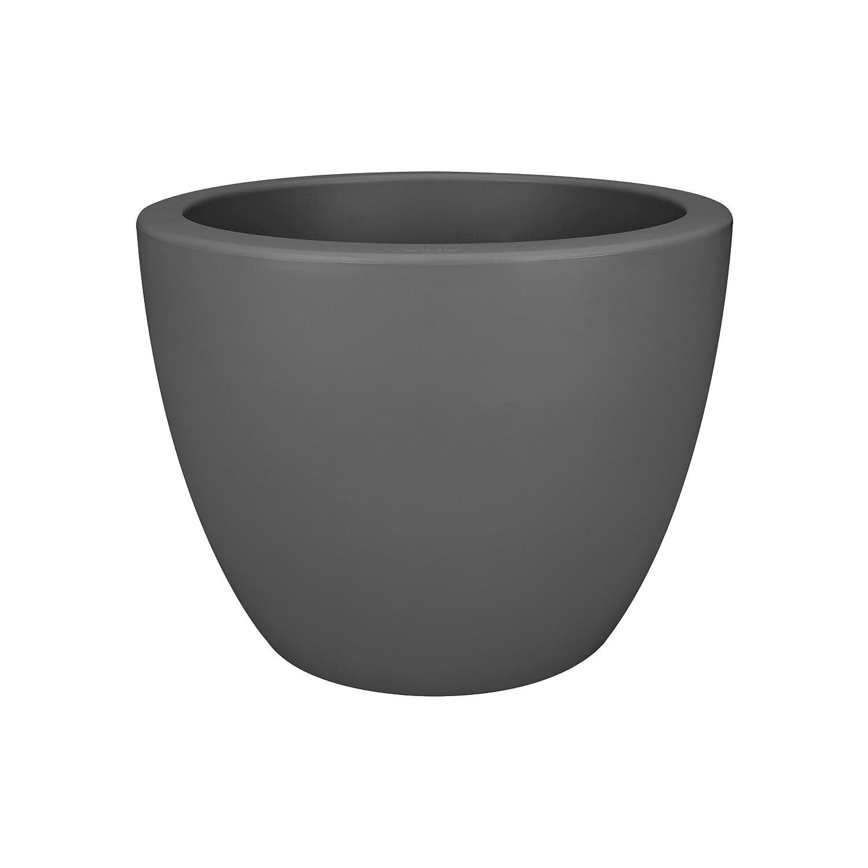 Elho pure soft round wheels 40 flowerpot - white 8873073915000
