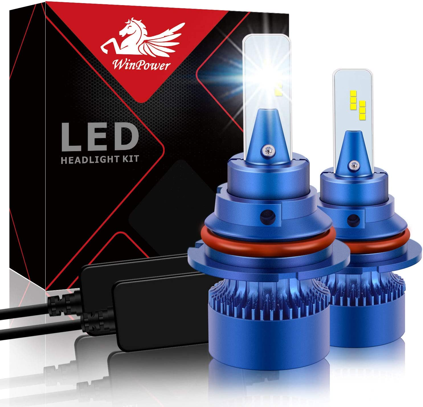 Win favorite Super popular specialty store Power 9007 LED Headlight Bulb CSP Conversio Chips 6000K 42W