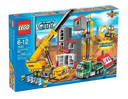 Amazoncom Lego City Construction Site Toys Games