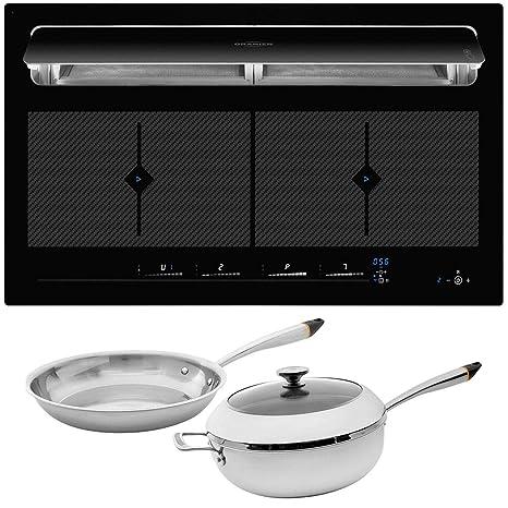 Oranier KFL 2094 be cook - Cocina de inducción (90 cm ...