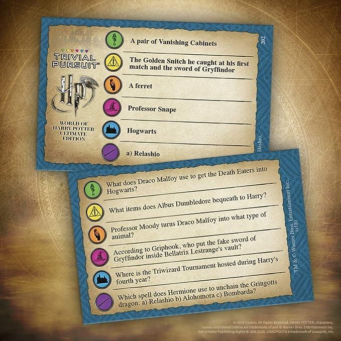 Haoli-dongman Juego de Mesa Monopoly, Colegio Hogwarts de Magia y Hechicería Gamer temáticas Juego de Mesa, Gryffindor, Slytherin, Juego de Mesa for niños de Edades de 8 y Arriba;: Amazon.es: Productos para