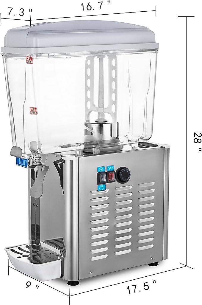 Moracle Dispensador de Bebidas de Zumo 220V 550W Comerciales ...