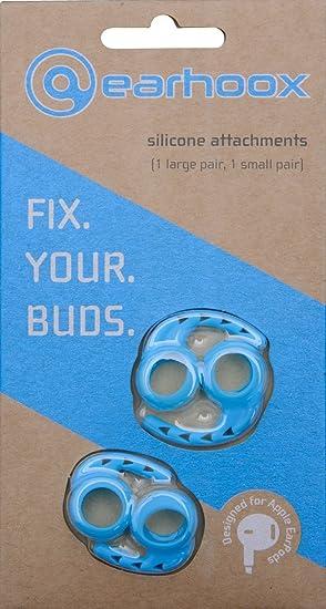d9a1f8da765 Amazon.com: Earhoox 300-BU 2.0 - for Apple EarPods & AirPods - Blue ...