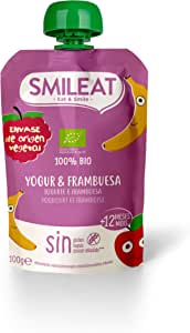 Smileat Smileat Pouch Yogur Y Frambuesa Eco Envase Sostenible 100 ml