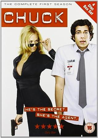Chuck season 1 dvd 2008 amazon zachary levi yvonne chuck season 1 dvd 2008 voltagebd Choice Image