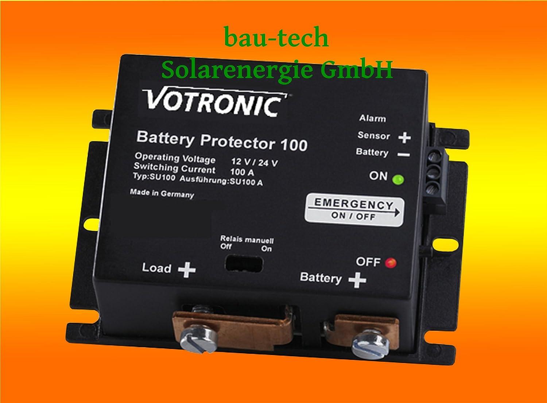 Votronic Battery Protector 100 - 12V Batteriewä chter / Batterie, Akku Ü berwachung von bau-tech Solarenergie GmbH VOBPROT100