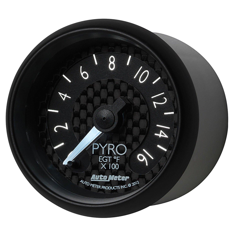 Auto Meter 8044 GT Series Electric Pyrometer/EGT Gauge by Auto Meter (Image #7)