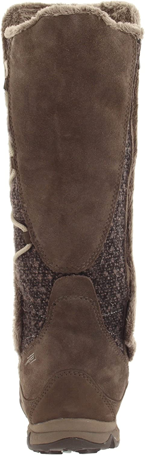 Salomon Women's Emmy WP Casual Boot, Absolute Brown XShrew