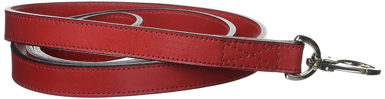 Hartman & pink 14398 Plain Nickel Plated Dog Lead, 3 4-Inch, Ferrari Red