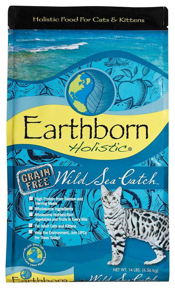 Earthborn Wild mar Catch Feline 14 LBS: Amazon.es: Productos para mascotas