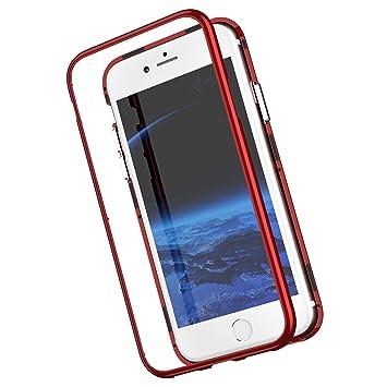 Funda magnetica Compatible con iPhone 8 Plus/7 Plus Carcasa ...