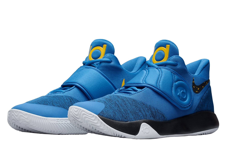 sale retailer 8b209 f525c Galleon - Nike Men s KD Trey 5 VI Basketball Shoes Signal Blue Black-White,  7.5