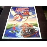 Original Spanish Movie Poster The Rescuers Walt Disney 1977 Poster From 1989