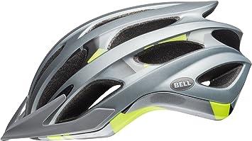 Bell Unisex - Casco de Bicicleta Drifter para Adultos, Color Plateado ...