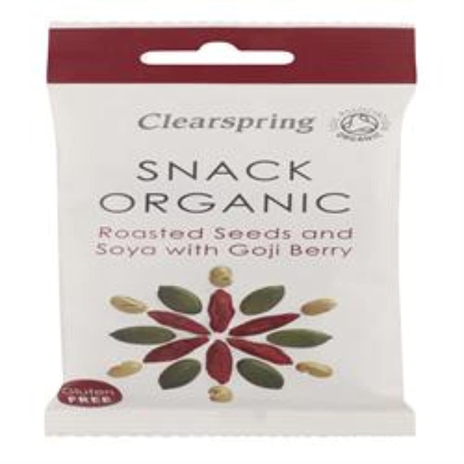 Amazon Com Clearspring Organic Snack Roasted Seeds Soya