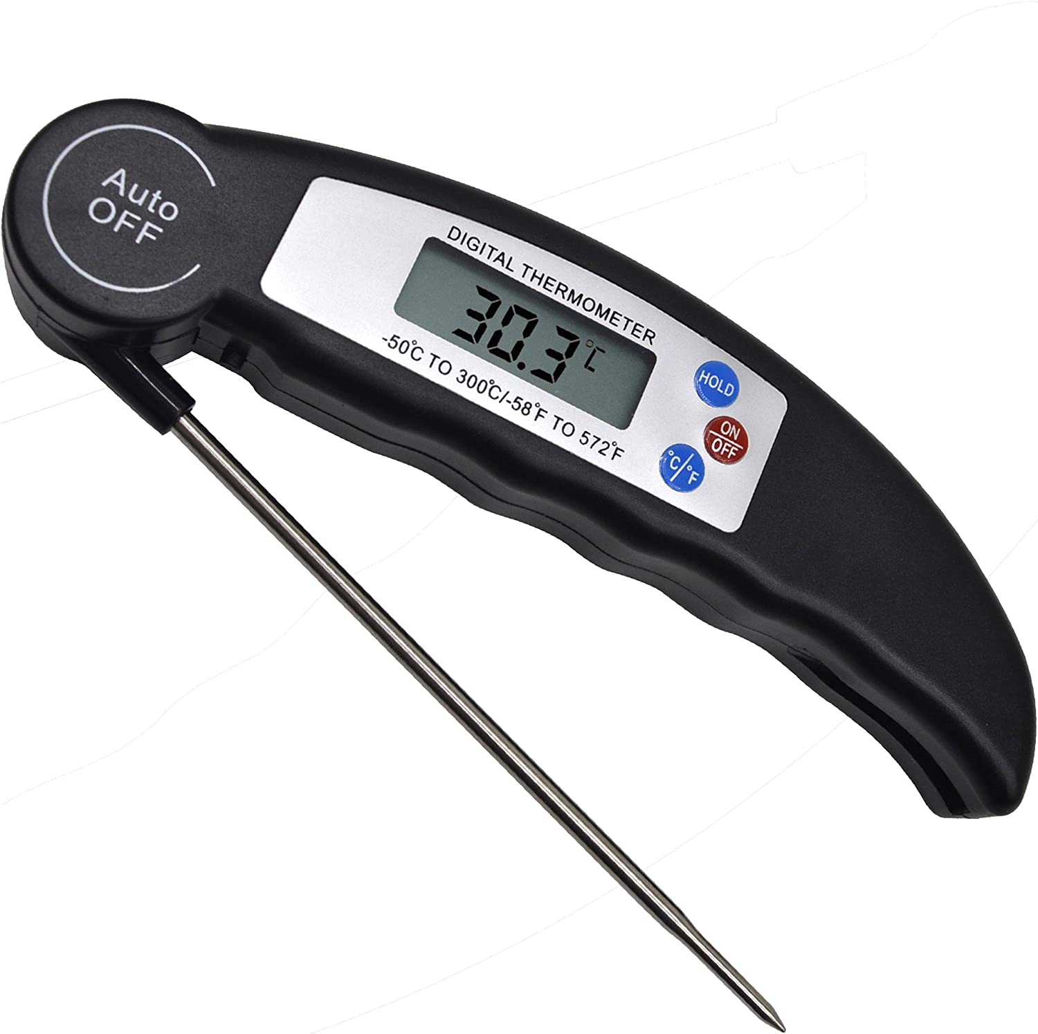 Digital Food Thermometer Probe Temperature Kitchen Cook Cooking BBQ Meat Turkey