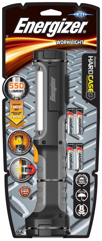 Energizer Rechargeable Spotlight Cree Hardcase Pro HYBRID 634497 - Linterna, color negro