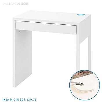 Amazon.com: IKEA Micke Desk Grommet Furniture Hole Cover ...