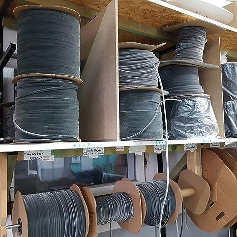 B/ürstendichtung Meterware mit Nut von 5mm bis 25mm f/ür Fliegengitter Dichtung Fenster T/üren Insektenschutz Rolladen Roll/äden mit Nut 20, 4,8 x 5mm
