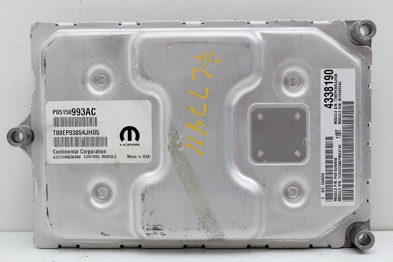 15 CHRYSLER 200 2.4L ECM ECU COMPUTER 5150993AC