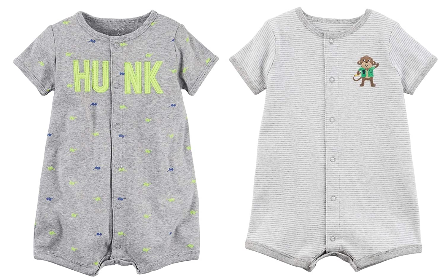 Carter's Carter's Baby Clothing SHIRT ベビーボーイズ SHIRT Clothing B07JQ597R8 マルチグレー 6 Months, レインボーカフェ:403b6b05 --- itxassou.fr