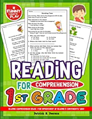 Reading Comprehension Grade 1 for Improvement of Reading & Conveniently Used: 1st Grade Reading Comprehension Workbooks for