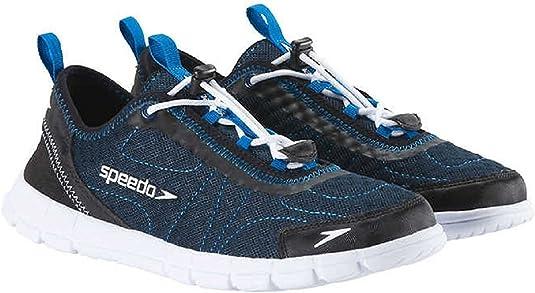 Interconectar Persona especial Sustancialmente  Amazon.com   Speedo Men's Hybrid Watercross Water Shoe, Navy/White   Water  Shoes