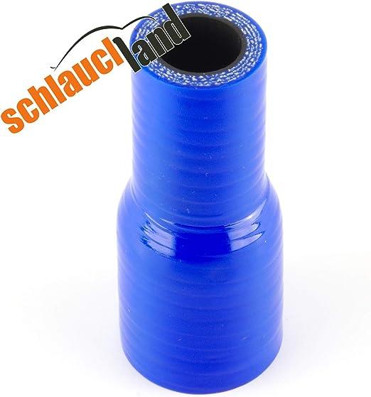 Silikon Reduzierstück Id 35 25mm Blau Silikonschlauch Reduzierer Silikon Reduzierung Llk Auto