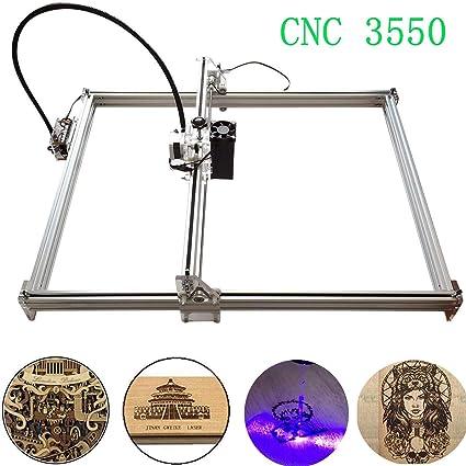 3000mw CNC Laser Engraver Carving Machine DIY Kit, 3550 Desktop USB Laser  Engraver Carver, Accuracy Adjustable Laser Power Printer Carving & Cutting