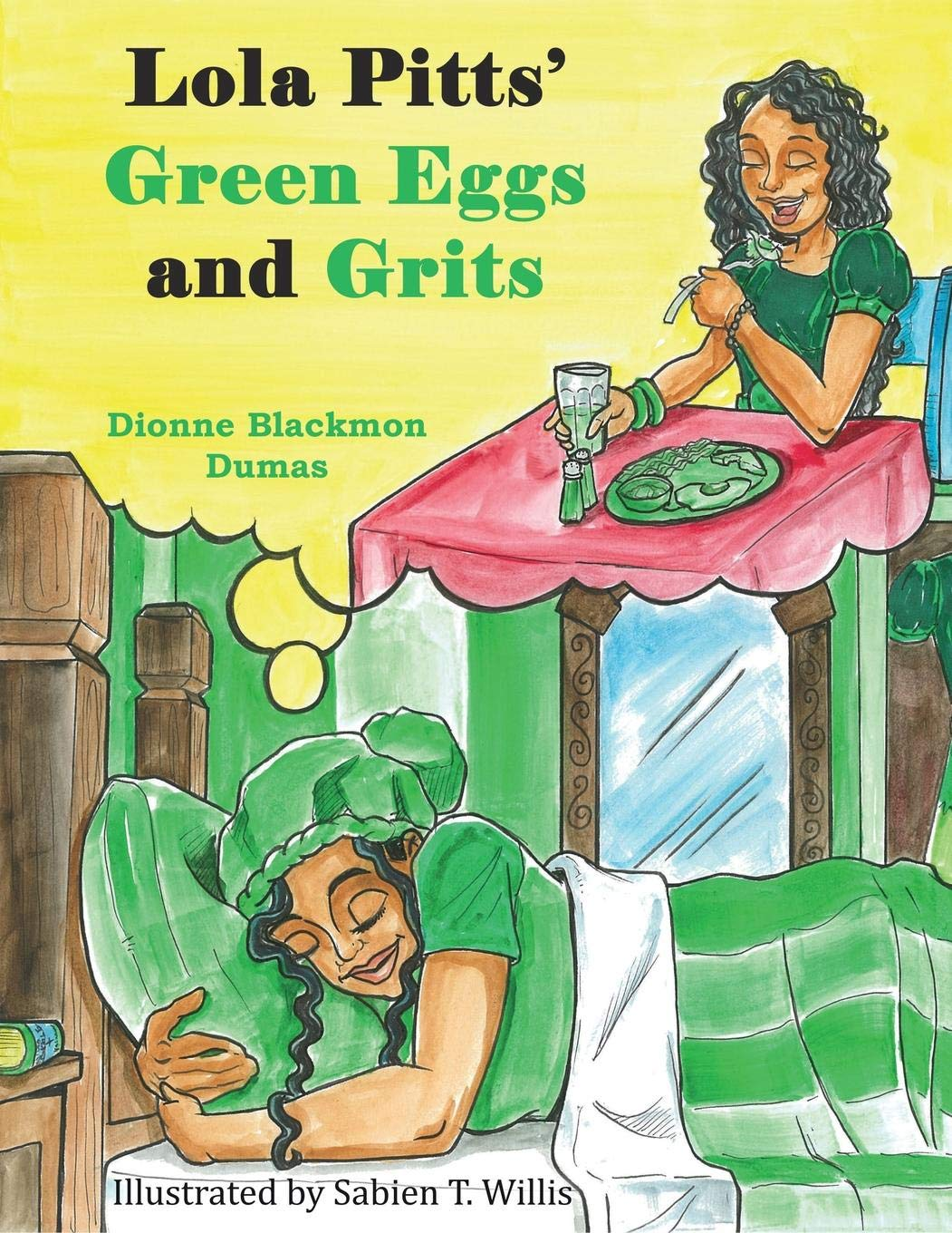 Lola Pitts' Green Eggs and Grits