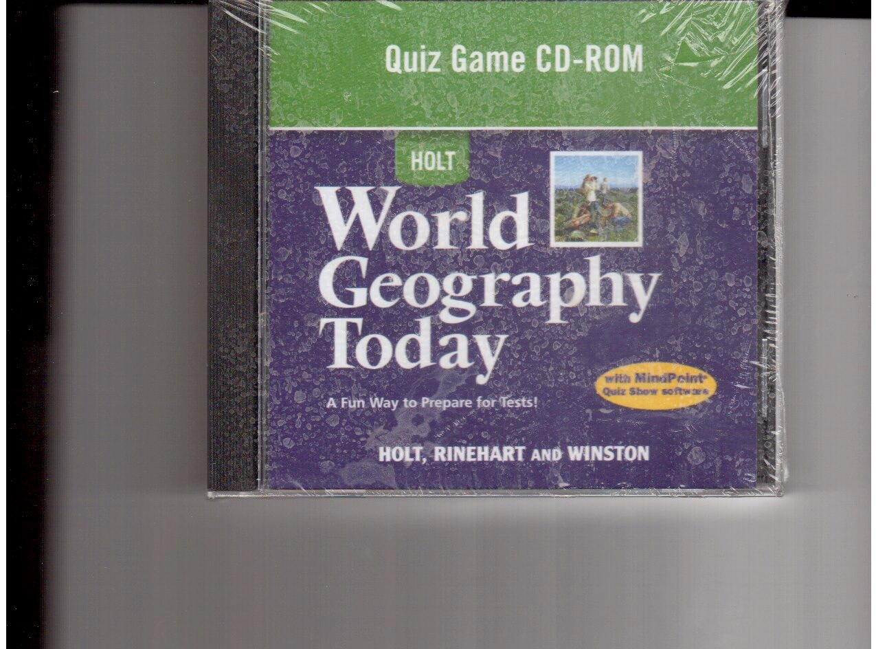 World Geography Today: Quiz Game CD-ROM: RINEHART AND