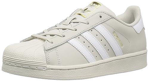 5f6593702c9 adidas Originals Unisex-Child CG2945 Superstar Foundation C Brown Size  1  Medium US Little