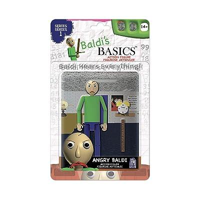 """Baldi's Basics 5"""" Action Figure (Angry Baldi): Toys & Games"""