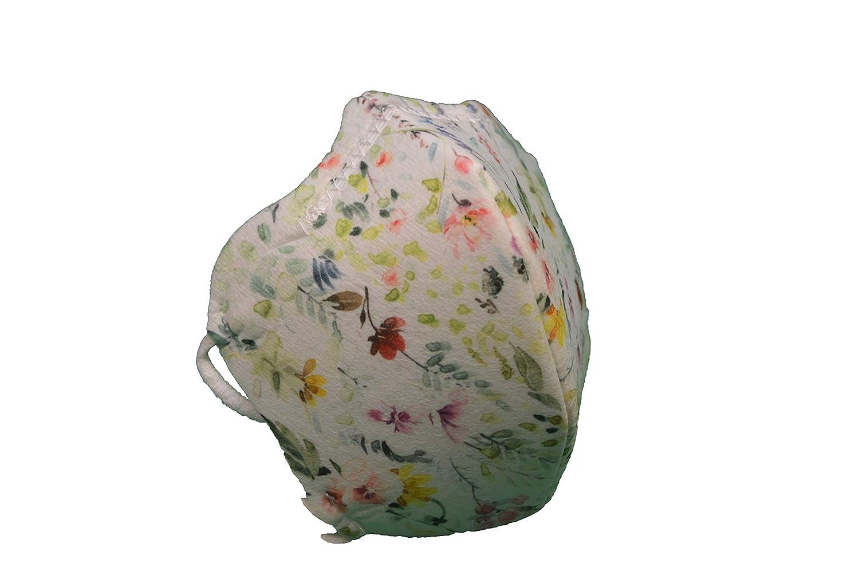 Maskin. Mascarilla higiénica reutilizable HOMOLOGADA UNE 0065. Pack 3 Uds. Diseñado y fabricado en España. (Adulto, Summer)