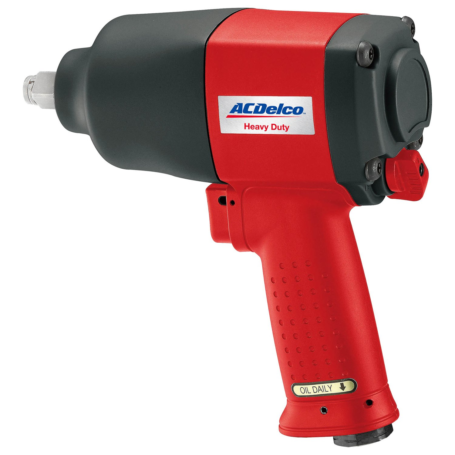 ACDelco BLOW-OUT OFFER Heavy Duty Twin Hammer 1 2 Air Impact Wrench with Composite Body and Comfort Grip, ANI402