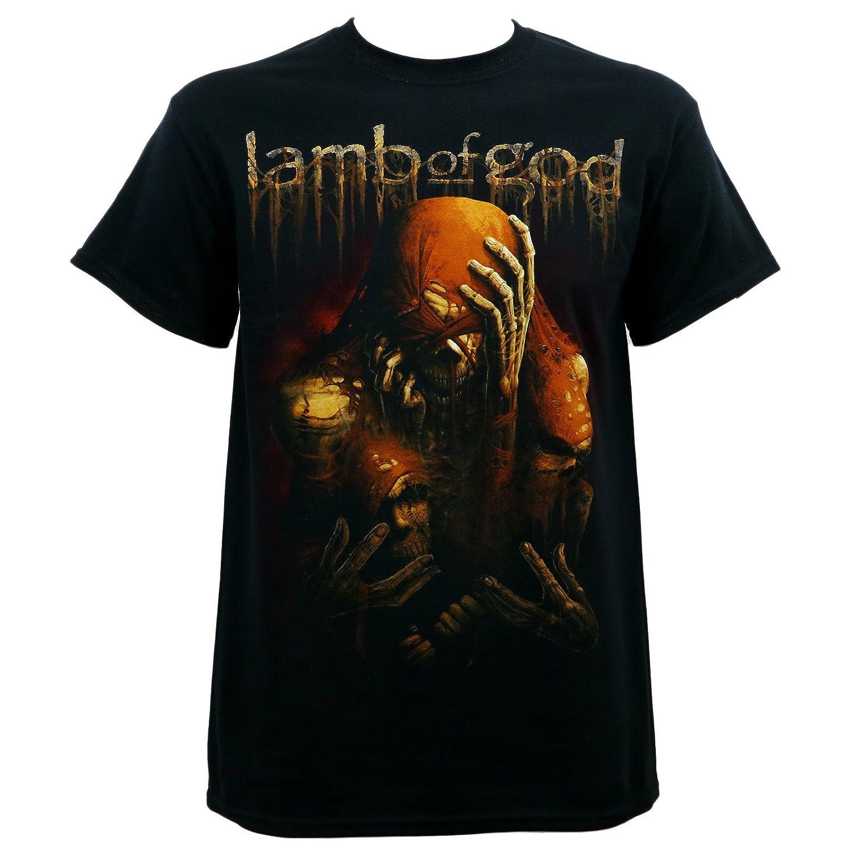 LAMB OF GOD Triad Skeleton Faces Black T-Shirt