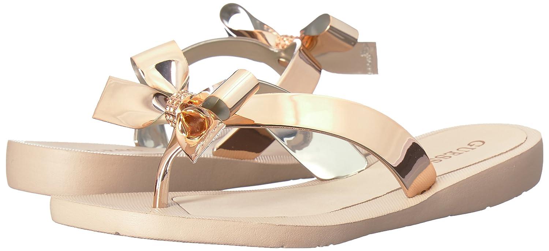 25ea5bf7efc51f GUESS Womens Tutu9 Flat Sandal  Amazon.ca  Shoes   Handbags