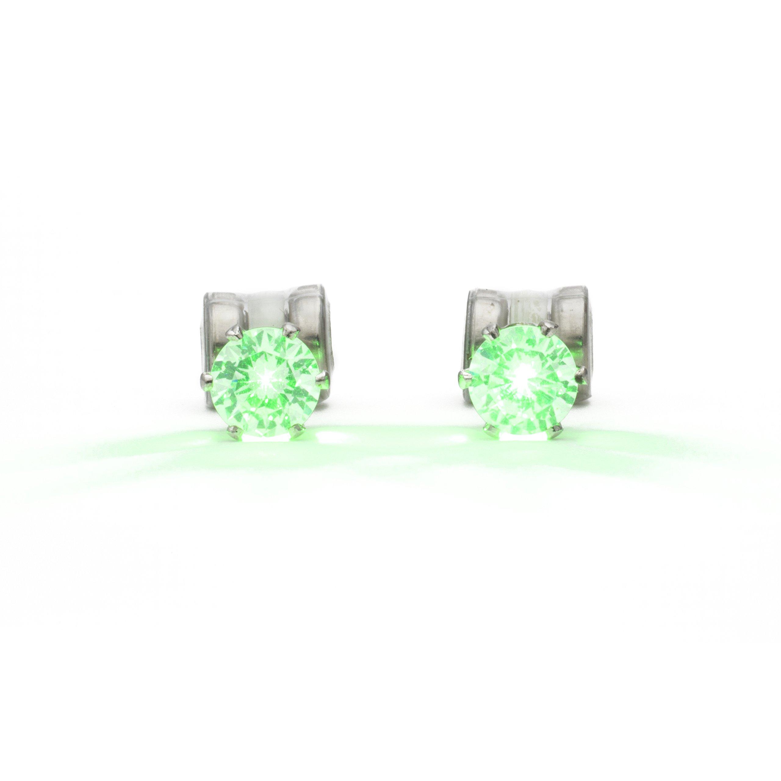 Original Night Ice LED Earrings (Green)