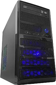 Mini Custom Intel i7 Quad-Core 3.8GHz 16GB SSD 2TB GeForce GTX 1060 3GB Win10 WiFi Gaming Desktop PC Computer